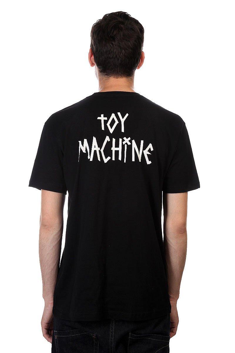 Футболка Toy Machine Kick Ass Black