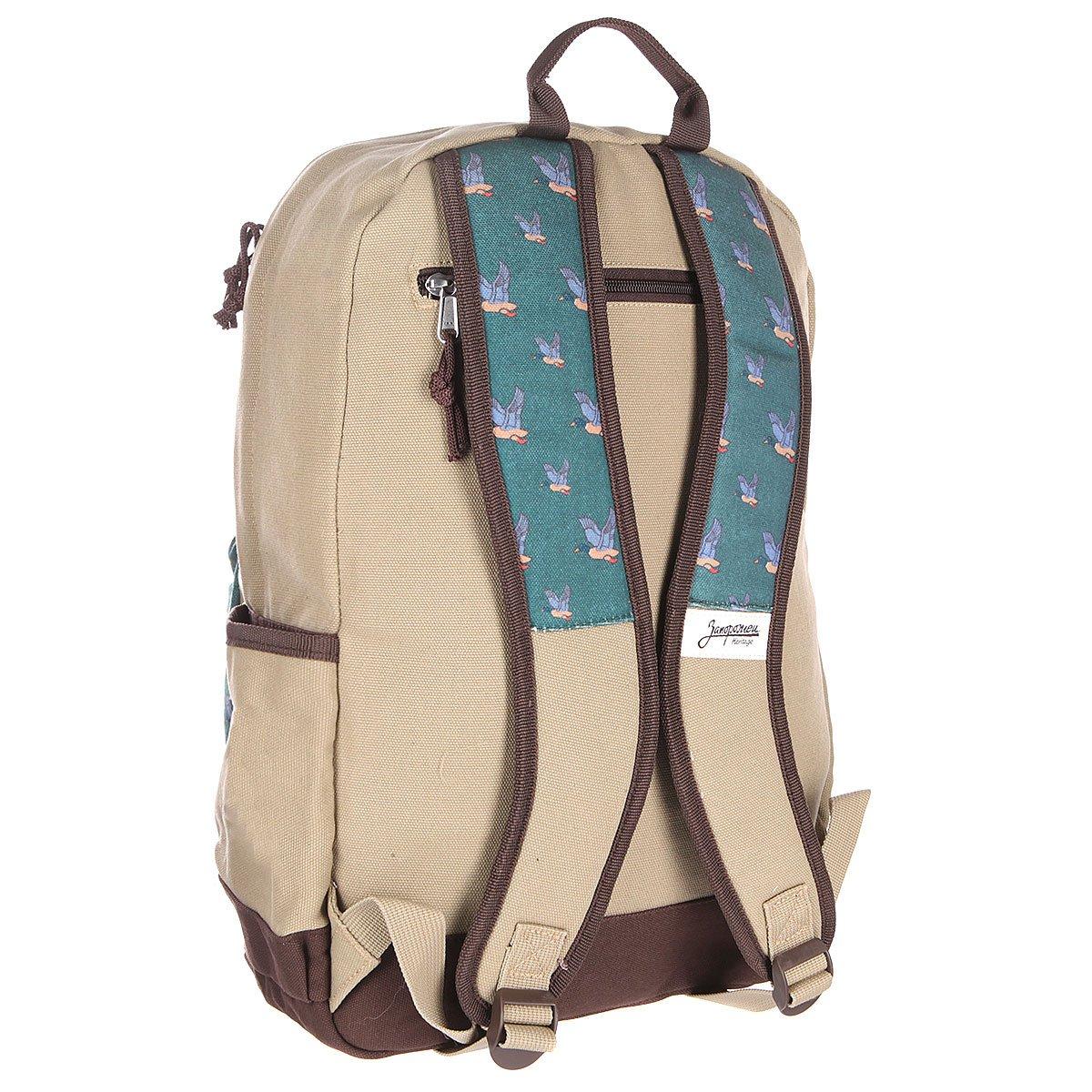 cb7d0055dd78 Купить рюкзак городской запорожец запорожец дичь Green/Beige в ...