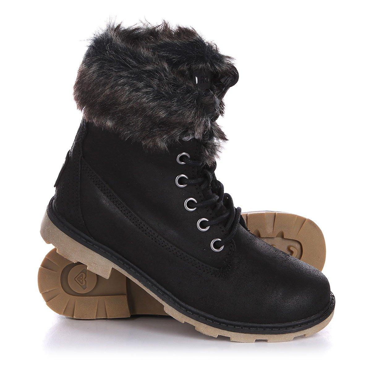 02953f073e01 Купить ботинки зимние женские Roxy Timber J Boot Black (ARJB700250 ...