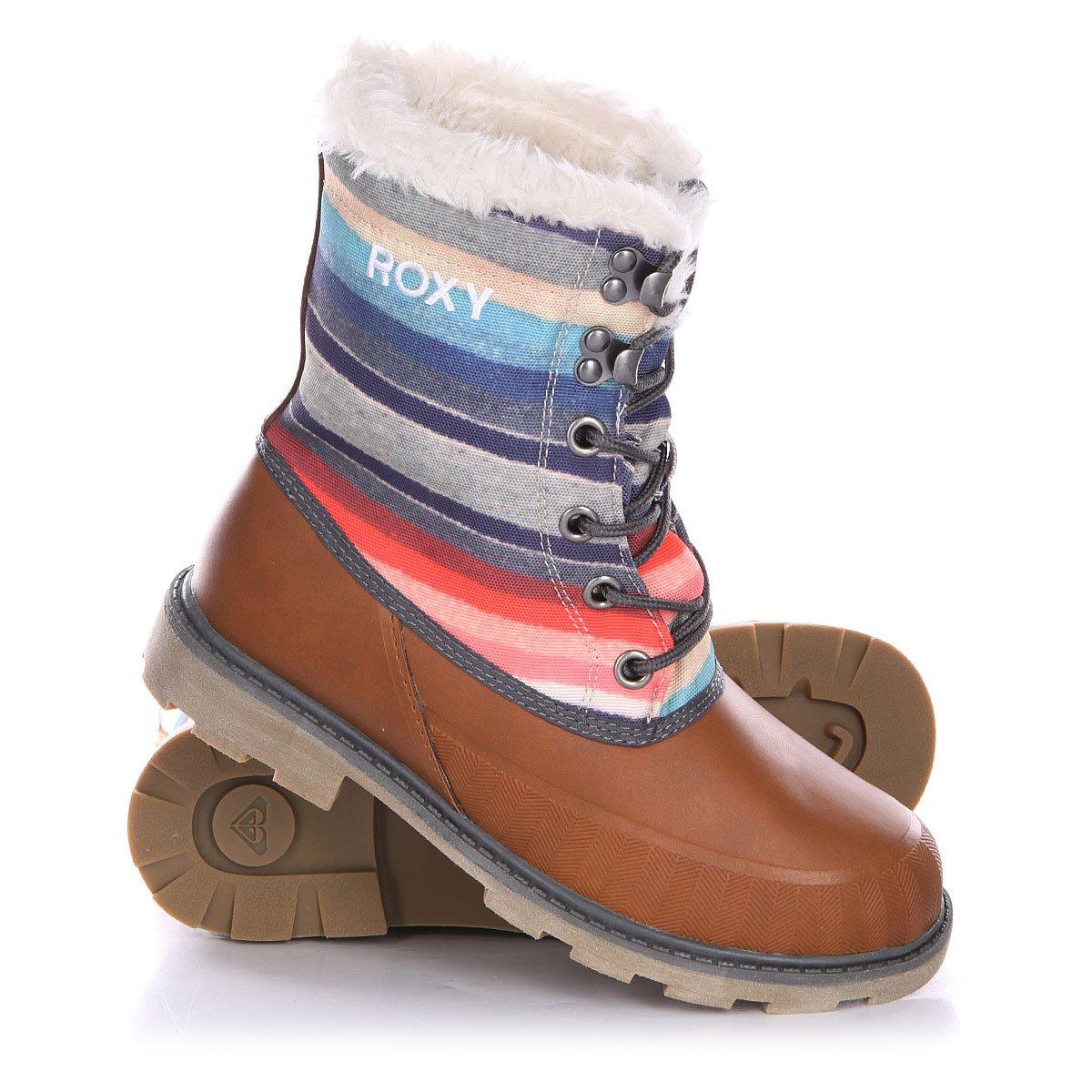 7a217dfb1067 Купить ботинки зимние женские Roxy Himalaya J Boot Burgundy ...
