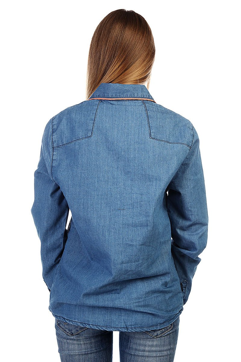Рубашка женская Insight Napier Shirt 70 S Mid Blue