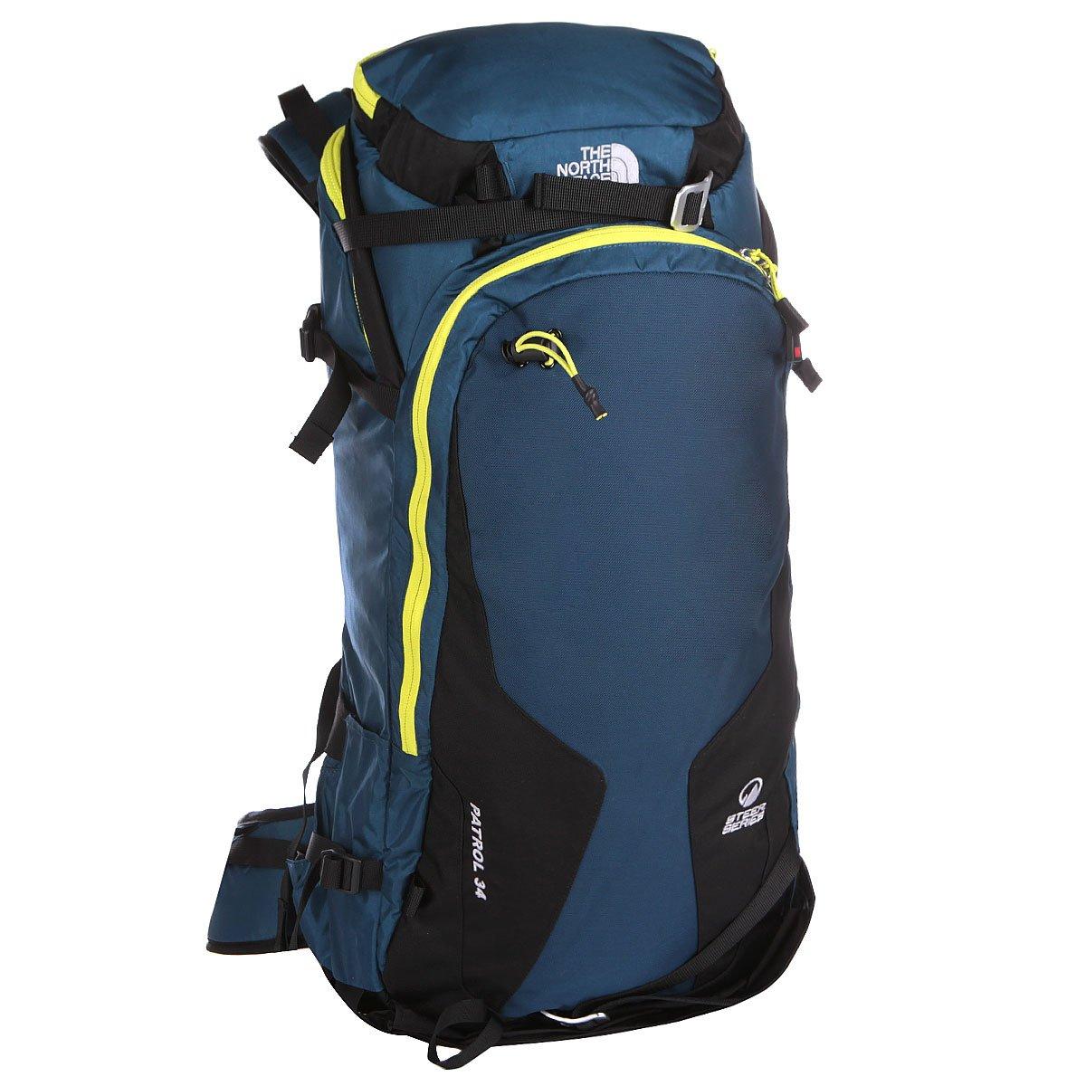 cb14aaae7949 Купить рюкзак спортивный The North Face Patrol Mon Blue Ssp Green в ...
