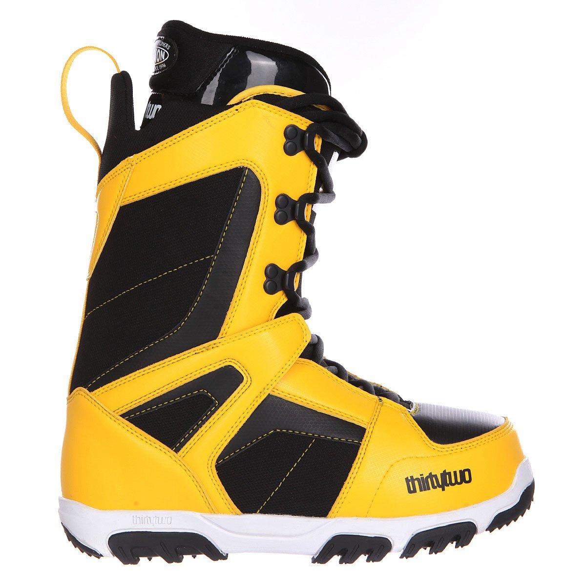 b9527f106732 Купить ботинки для сноуборда Thirty Two Prion Black Yellow в ...