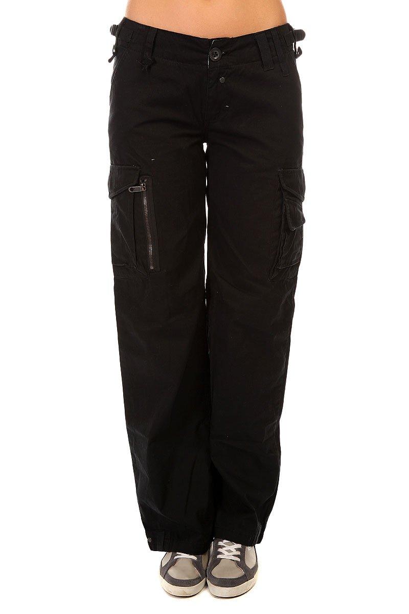 747e83075ca5 Купить штаны широкие женские Zoo York Assalute Cargo Black в ...