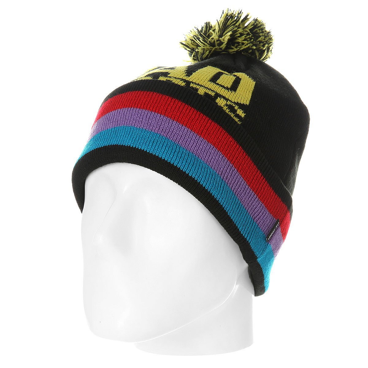 597cd8d23 Шапка Undefeated Bad Sports Pom Beanie Black