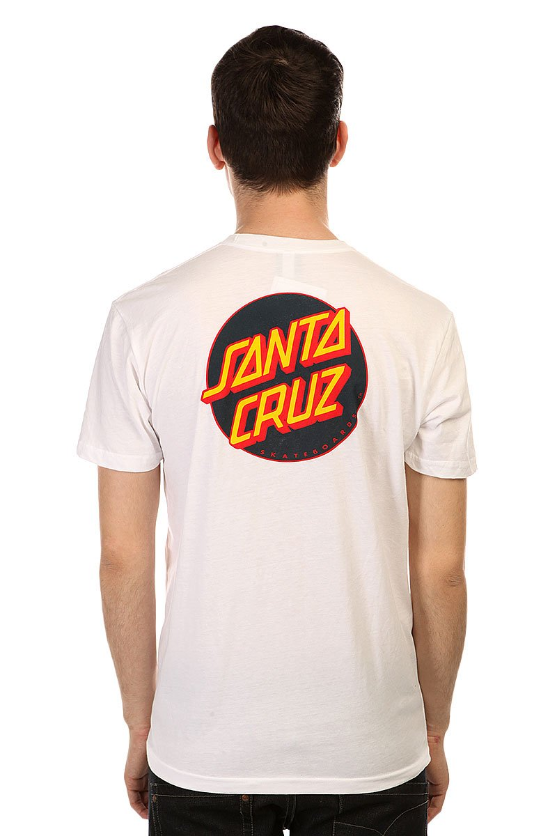 Футболка Santa Cruz Other Dot Premium White