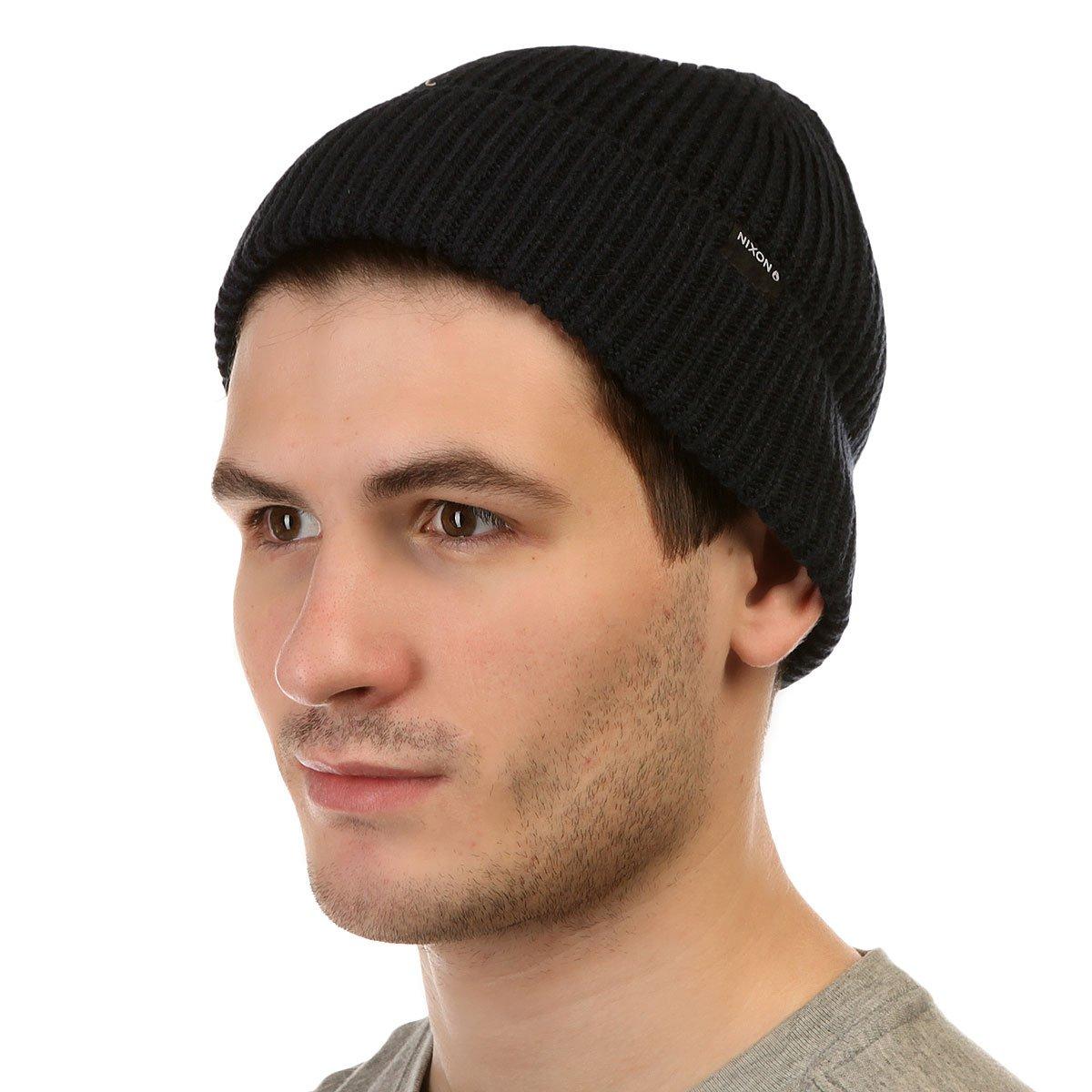 aa70b6240dc2e Купить шапку Nixon Regain Beanie Navy в интернет-магазине Proskater.kz