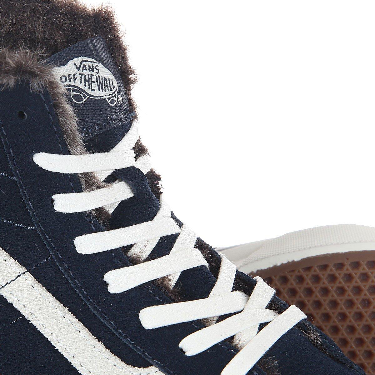 Купить кеды утепленные Vans Sk8-Hi Slim Fur Lining в интернет ... 86e70d9cdce