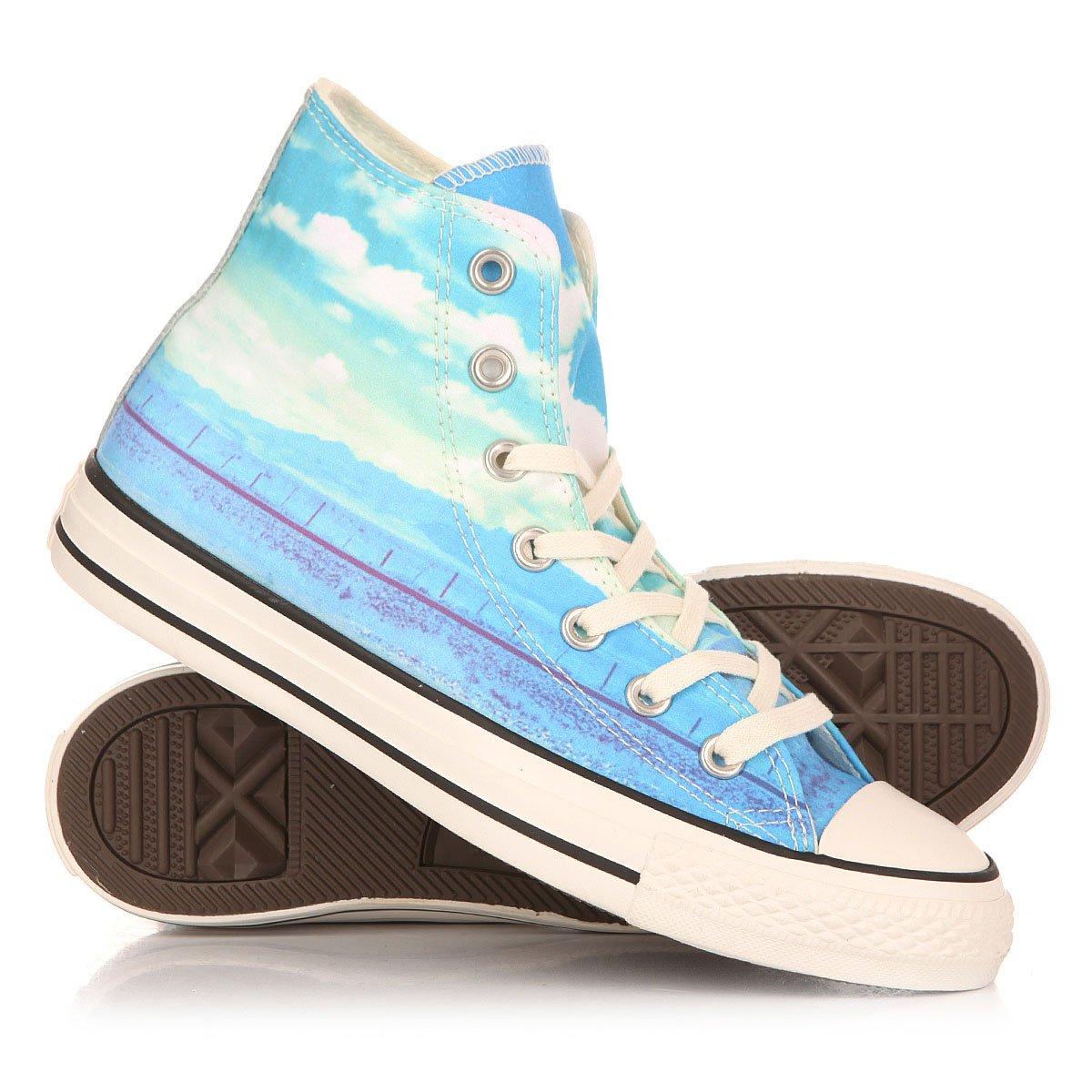 Кеды высокие женские Converse Chuck Taylor All Star Hi Spray Paint. до 0° abf22a6029086