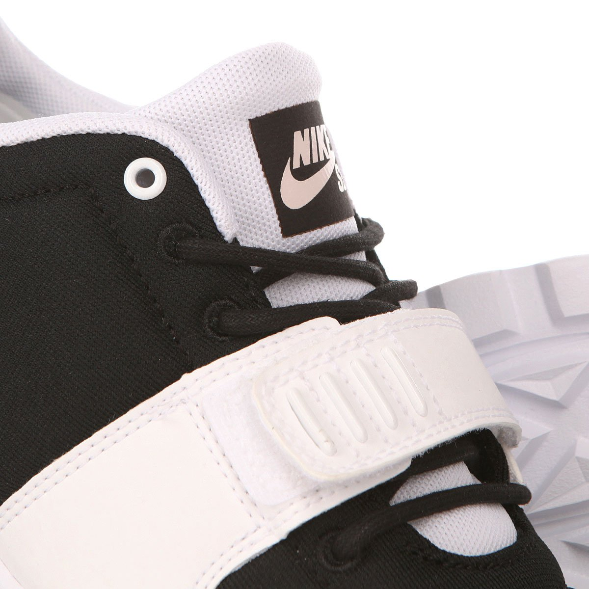 lowest price cfc03 40a84 Кроссовки Nike SB Trainerendor Black White ...