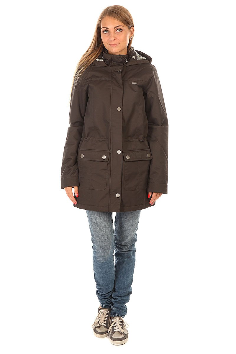 ... Куртка женская женская Roxy Piper Peak J Jckt Charcoal Heather ... 9d6e9b4c363
