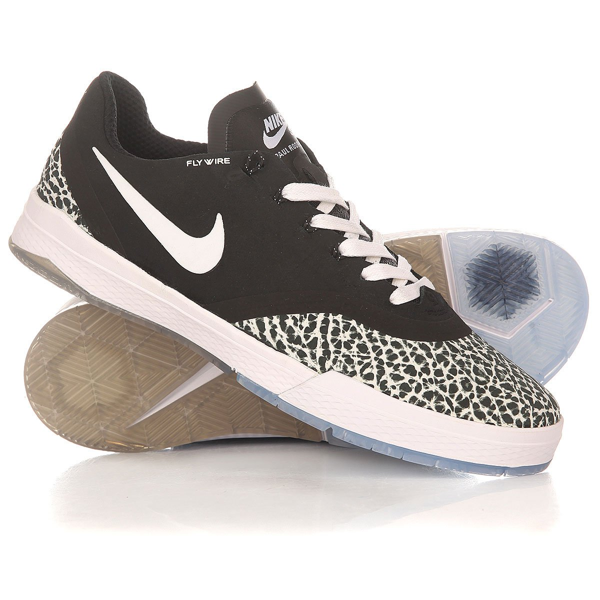 cde3ab83 Купить кеды низкие Nike Paul Rodriguez 9 Elite T Black/White (833902 ...