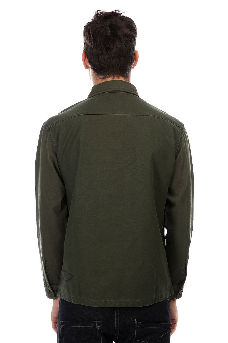 Рубашка Quiksilver Counterfireshir Forest Night