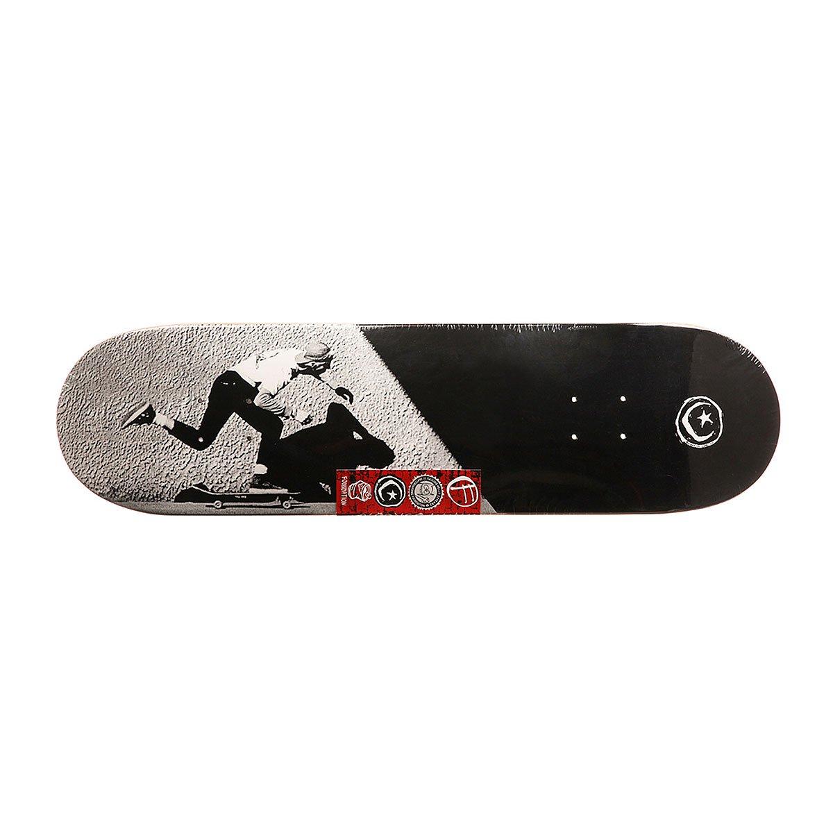 Дека для скейтборда Foundation Jgb Push Black/Grey 31 75 x 8 25 (21 см)
