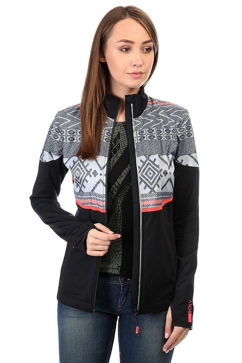 92362b74c6f7 Купить толстовку сноубордическая женскую Roxy Priscah True Black ...