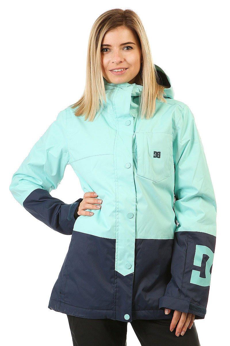 2cc8020c388d Купить куртку женскую DC Shoes Defy Aruba Blue (EDJTJ03014-BFK0) в ...