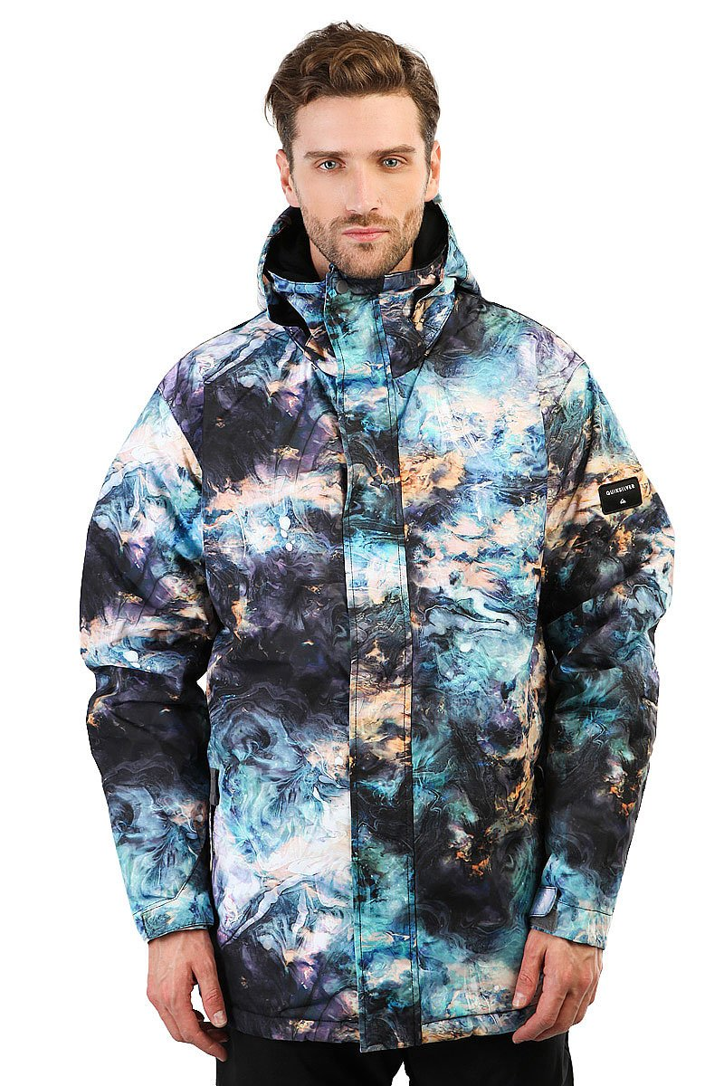 a44956065e79 Купить куртку Quiksilver Mission Print Oil And Space (EQYTJ03069-KVJ8) в  интернет-магазине Proskater.by