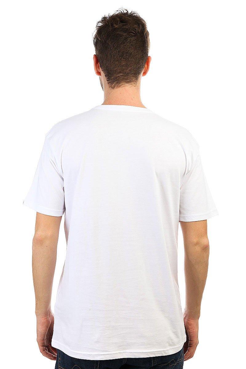 Футболка Quiksilver Crocoride White