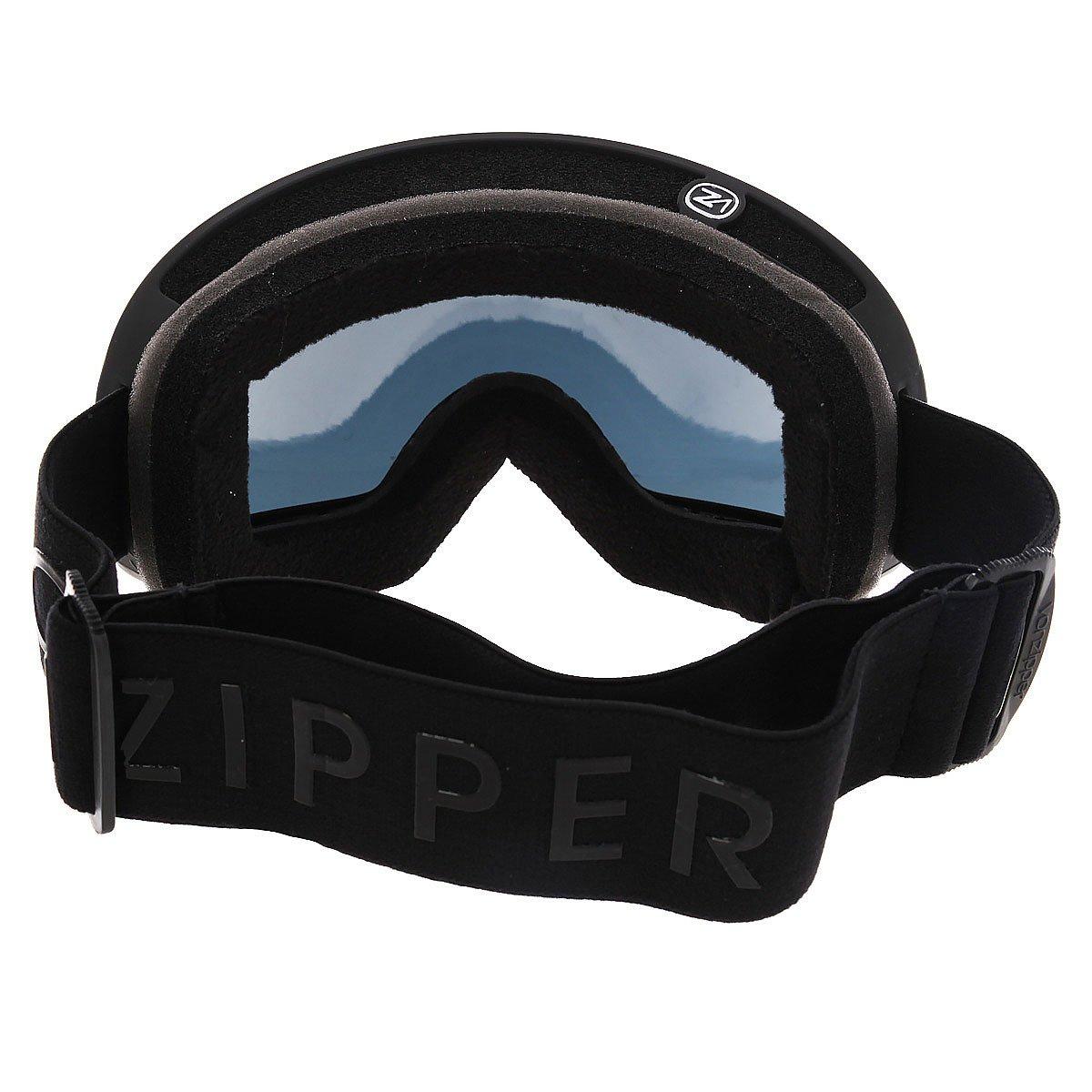 Маска для сноуборда Von Zipper Fishbowl Black Satin/Blackout