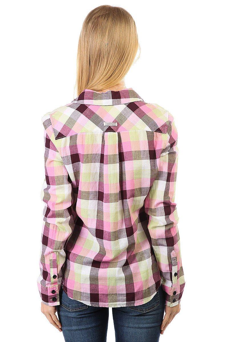 Рубашка в клетку женская Zoo York Plaid Top Gum