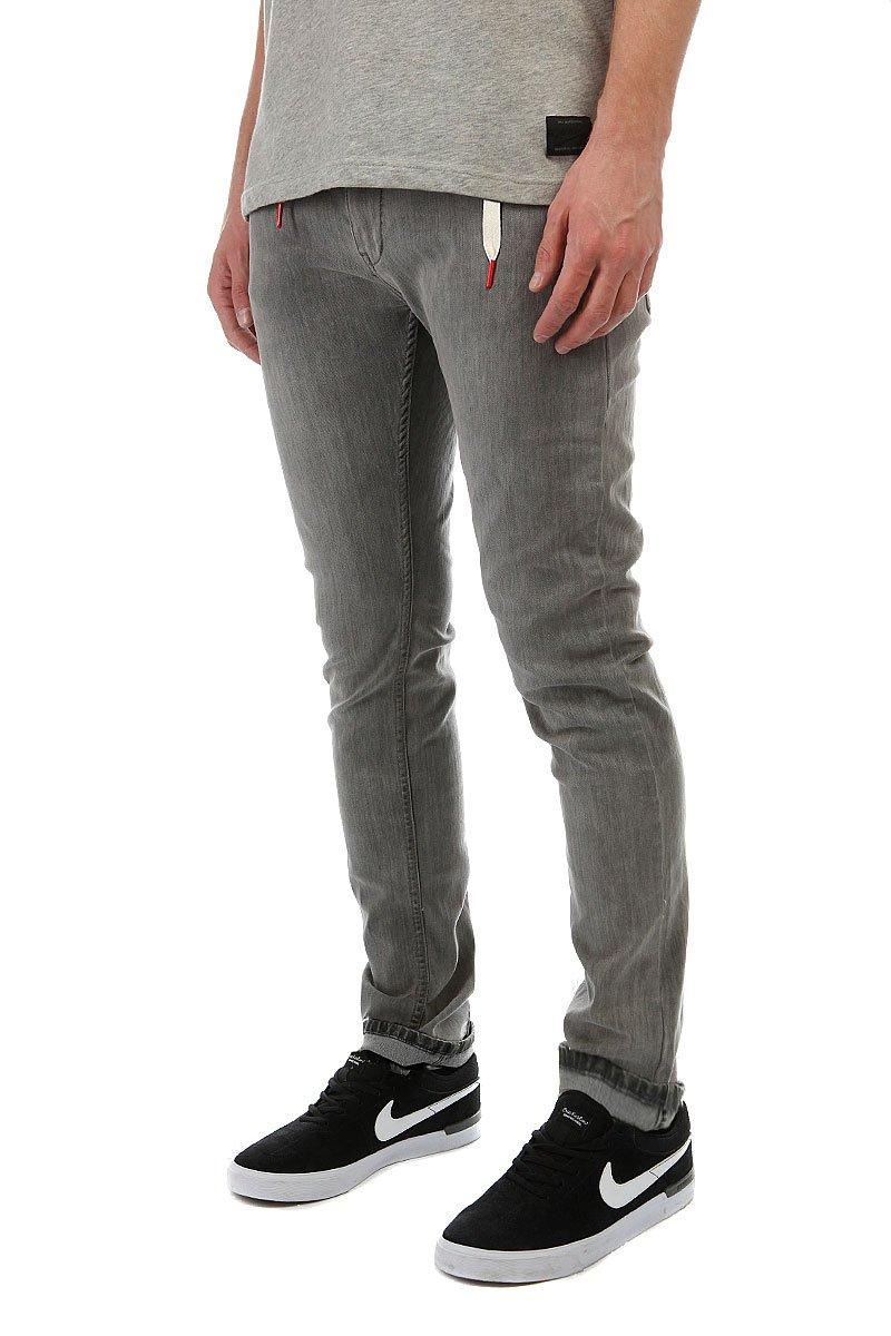 fc69e4c5c91 Купить джинсы узкие Skills Skills Slim Flex Grey в интернет-магазине ...