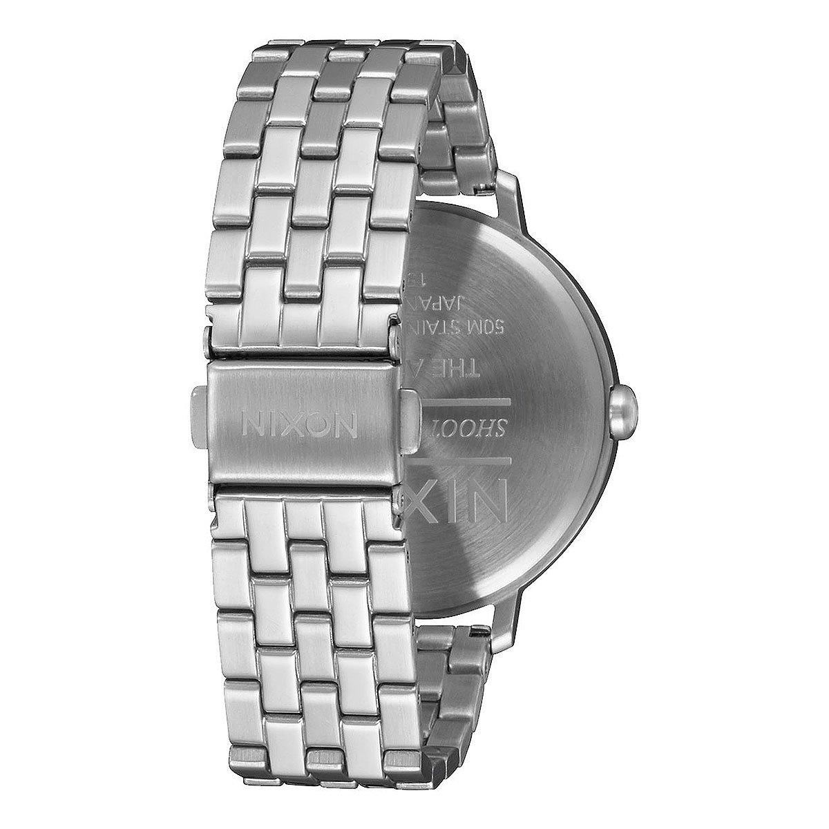 Кварцевые часы женские Nixon Arrow Silver