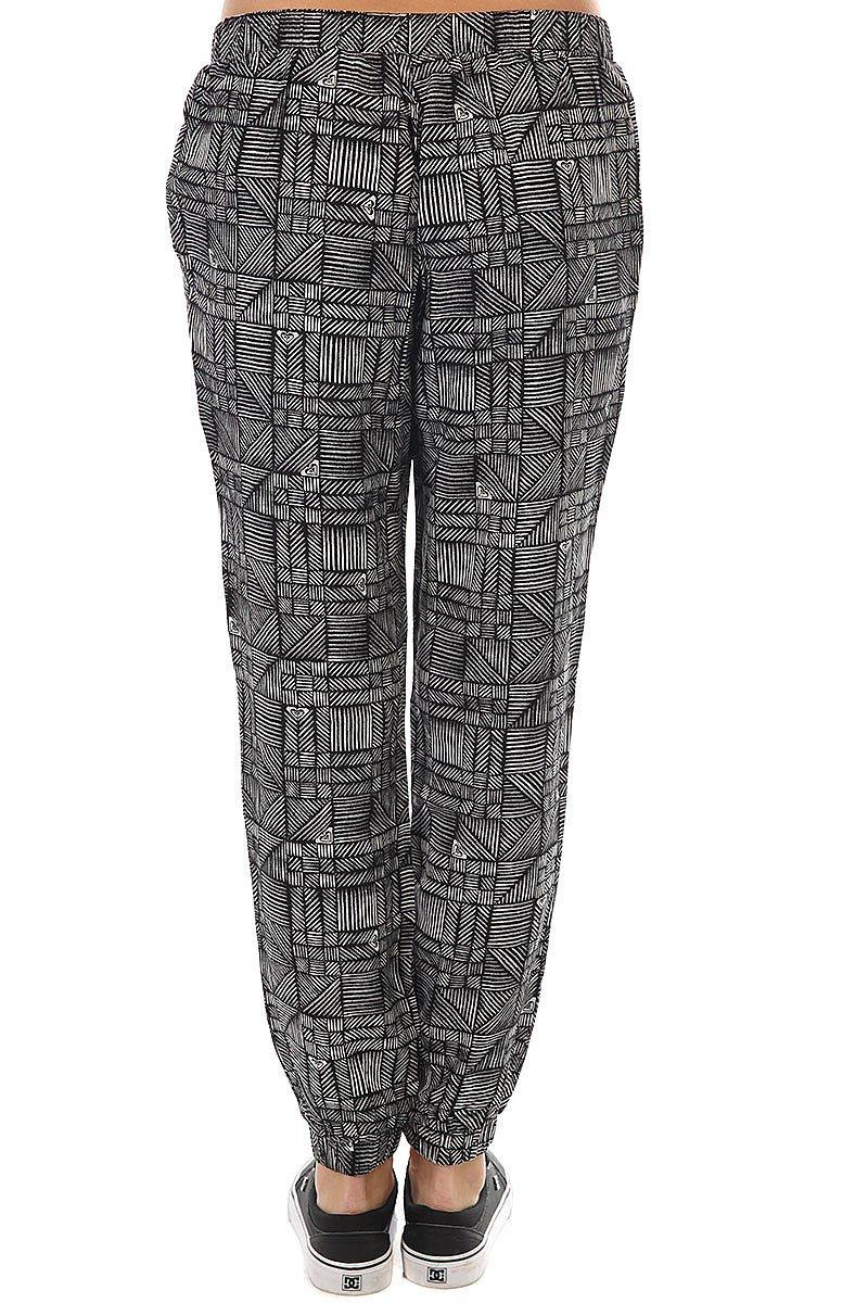 Штаны прямые женские Roxy Easy Peasy Pant Anthracite Beachouse