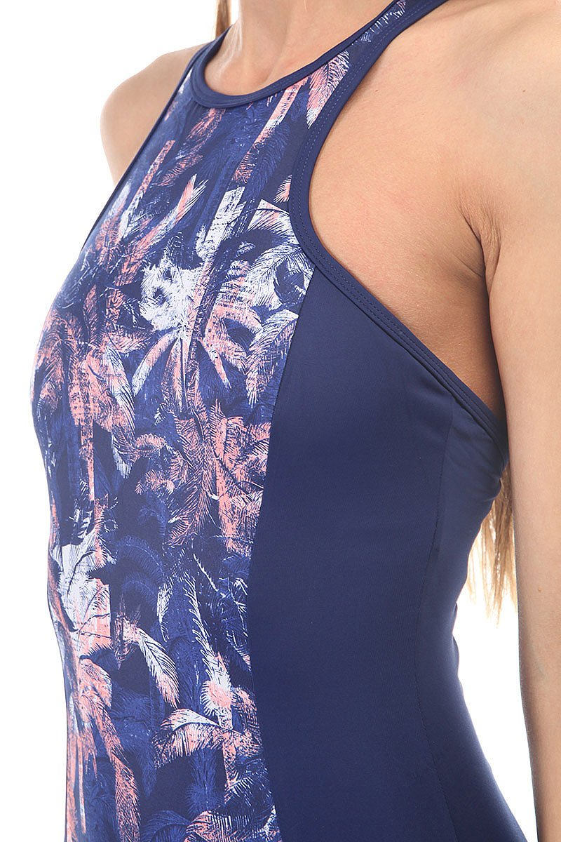 Купальник женский Roxy Kir Fashion 1pc Blue Depths Washed