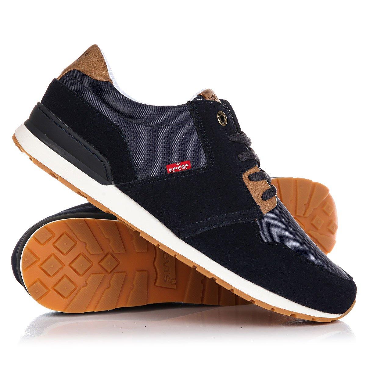 Купить кроссовки Levis Ny Runner Ii Navy Blue в интернет-магазине  Proskater.ru 704d9714909