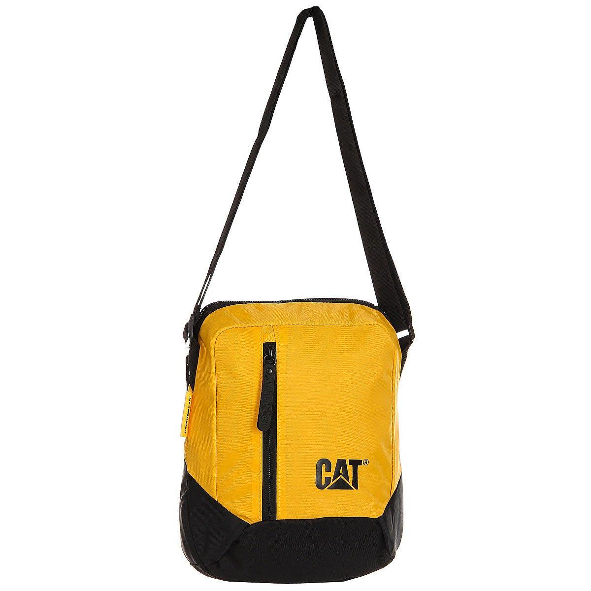 d864399683f4 Купить сумку для документов Caterpillar Tablet Bag Black/Yellow в  интернет-магазине Proskater.by