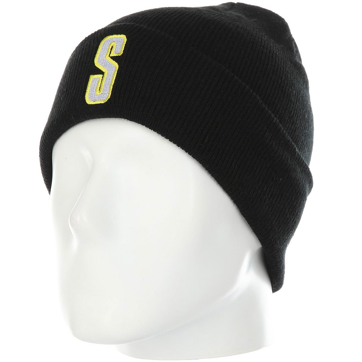 922404a3935 Купить шапку Stussy Vintage S Cuff Beanie Black в интернет-магазине ...