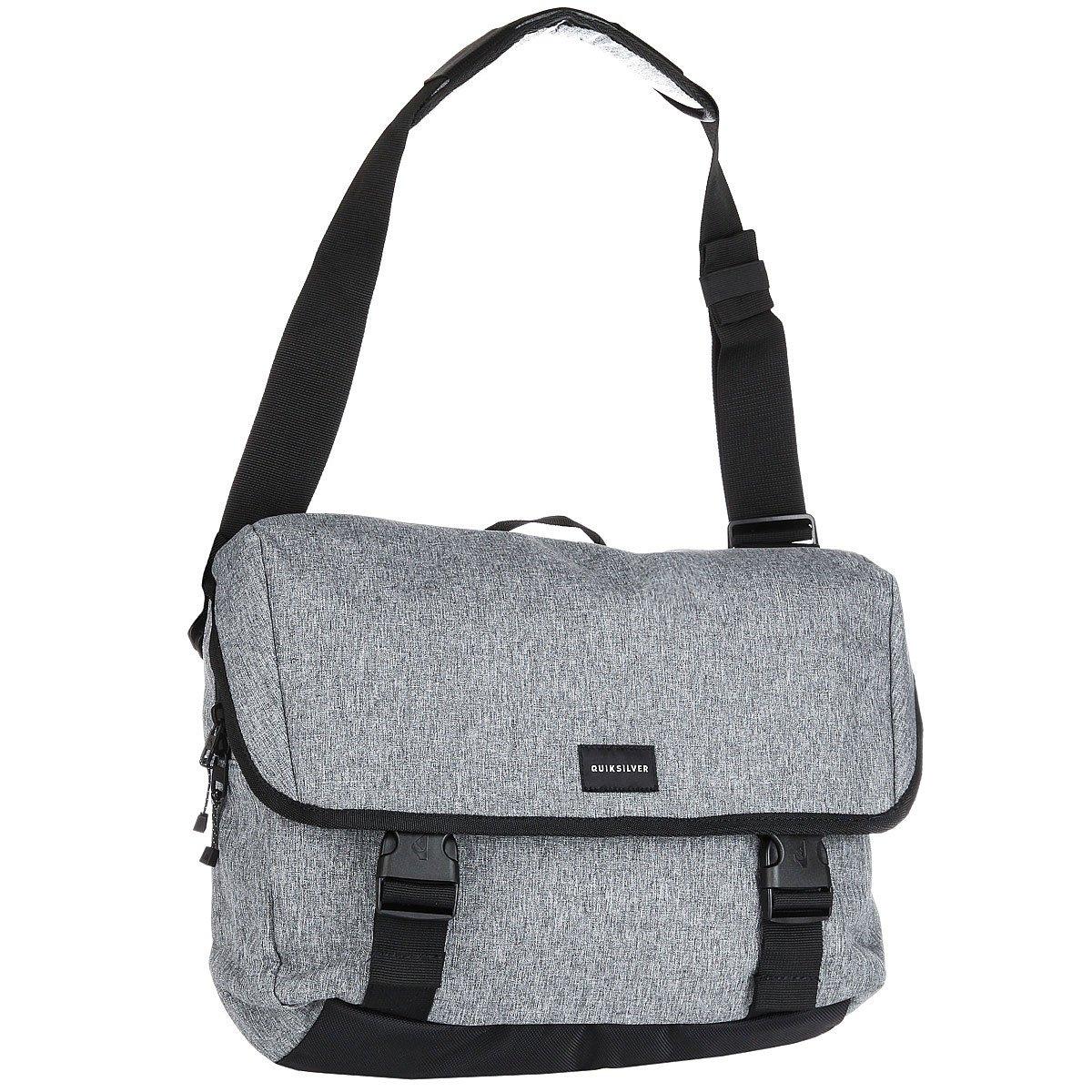 e8211591d2a7 Купить сумку через плечо Quiksilver Carrier Light Grey Heather  (EQYBA03065-SGRH) в интернет-магазине Proskater.by