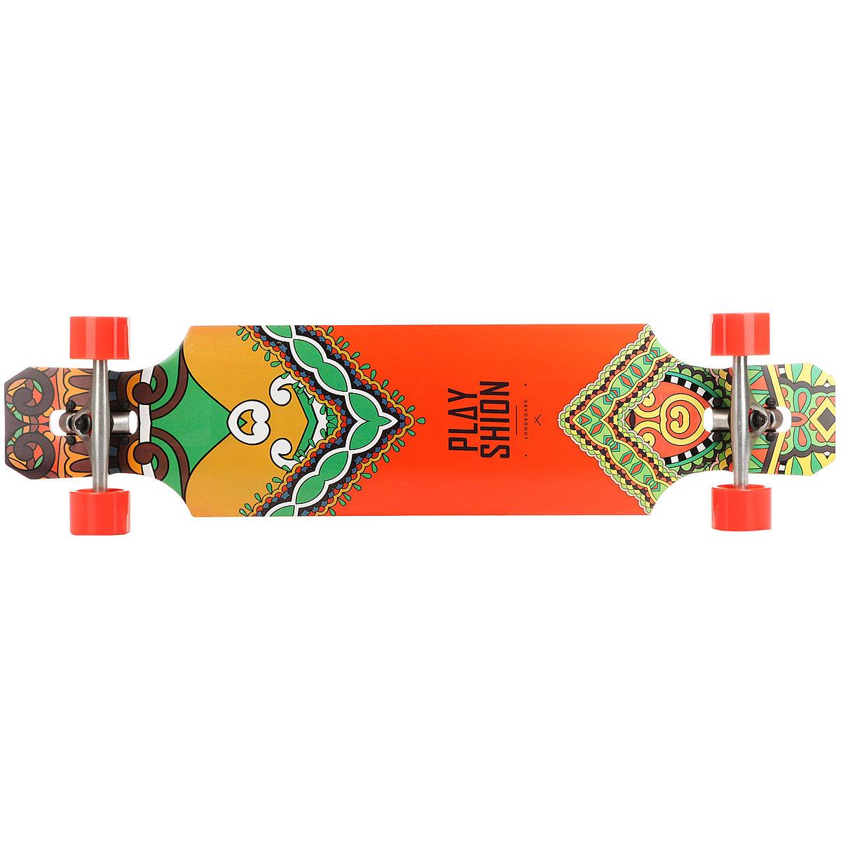Лонгборд Playshion Pl-lon-010 Orange/Multi 9.2 X 39 (99 См)