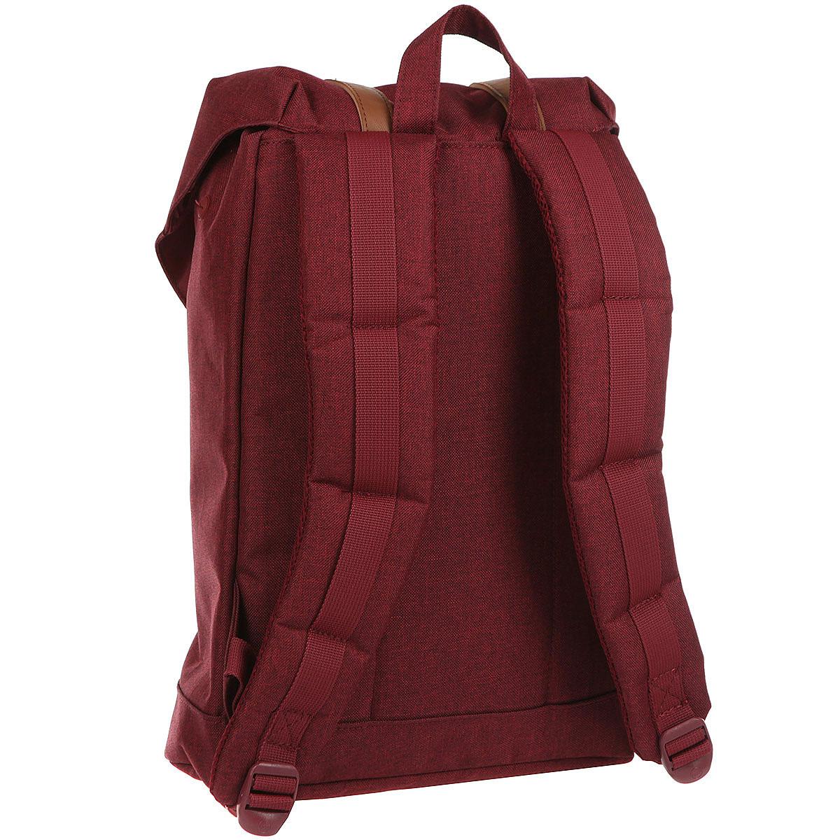Рюкзак Herschel Retreat Mid-volume Winetasting Crosshatch/Tan Synthetic Leather