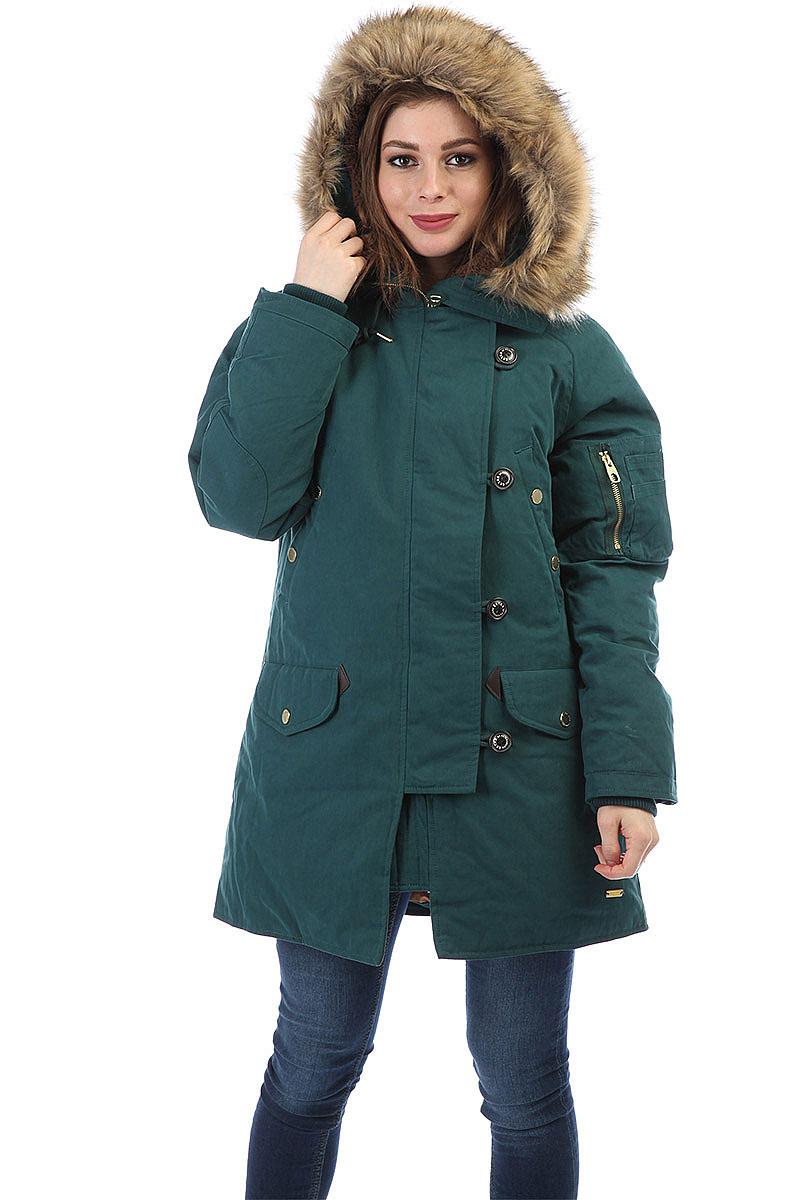 86f7cd5afe6 Купить куртку женскую Extra Lora Green в интернет-магазине Proskater.ru
