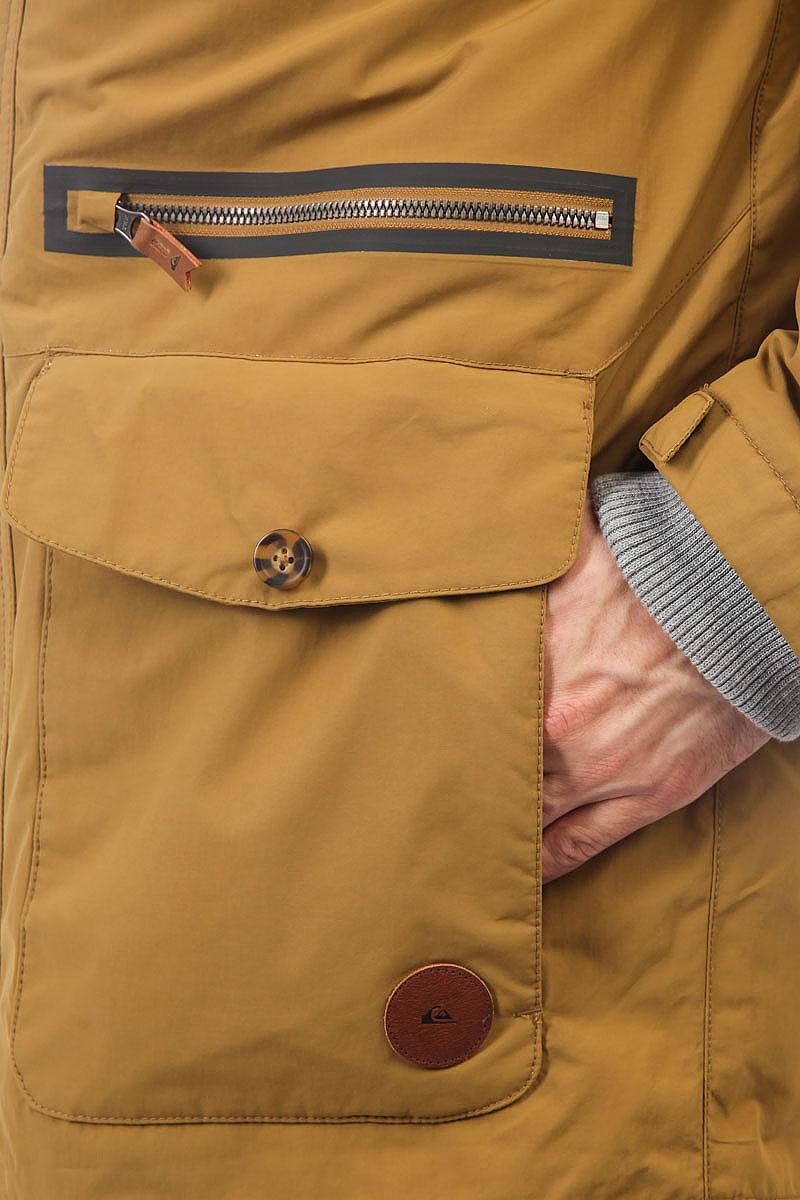 Куртка парка Quiksilver Sedona British Khaki