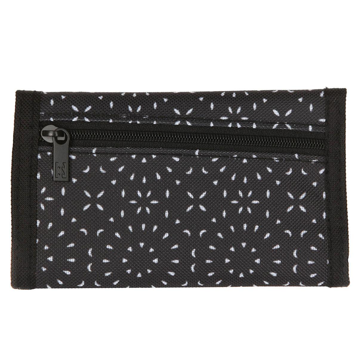 Кошелек Billabong Atom Wallet Black/White