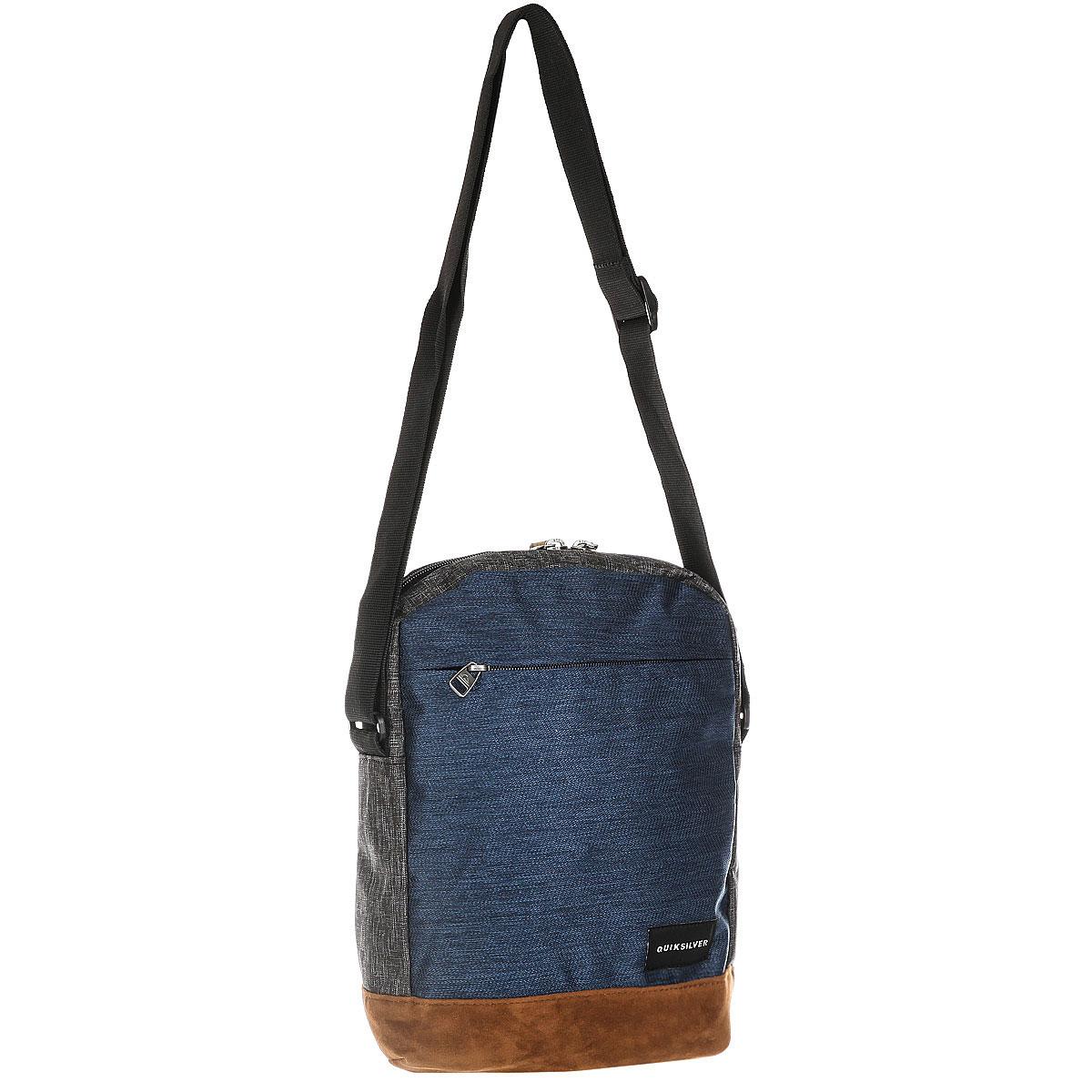 7f639d580bf5 Купить сумку через плечо Quiksilver Magicallxl Medieval Blue  (EQYBA03080-BTE0) в интернет-магазине Proskater.by