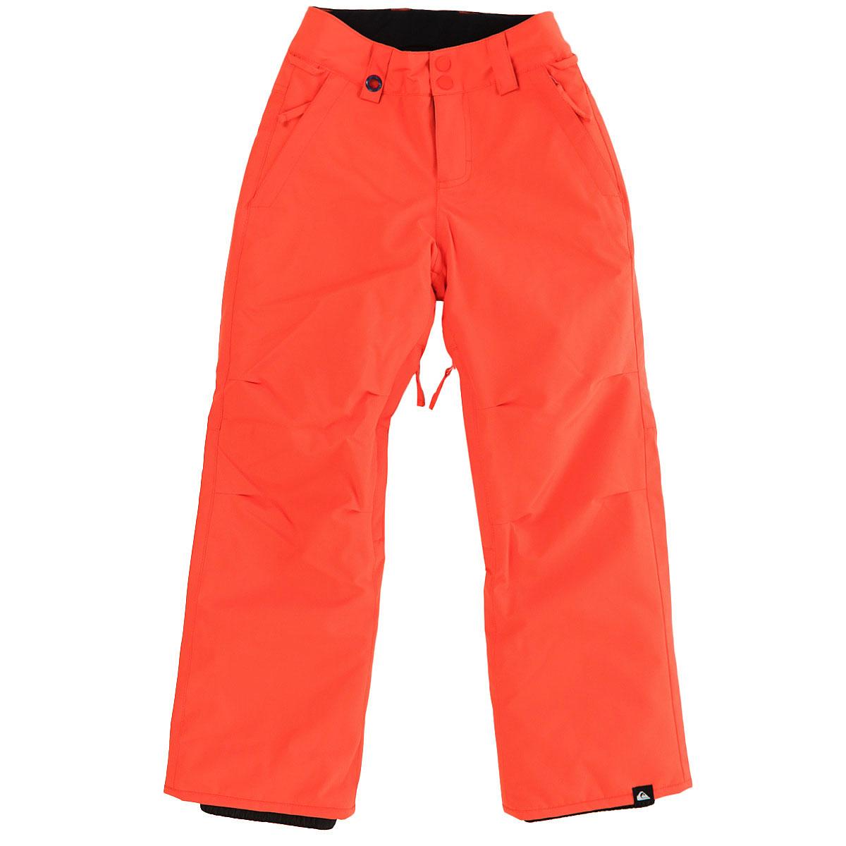 Купить штаны сноубордические детские Quiksilver Estate Youth Pt Mandarin Red  (EQBTP03013-NMS0) в интернет-магазине Proskater.kz bf542e53482