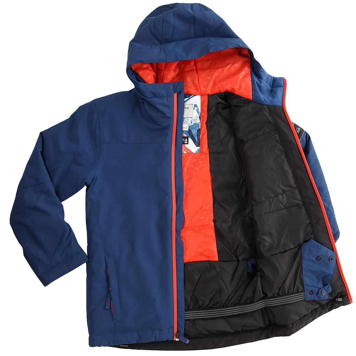 Купить куртку утепленная детскую Quiksilver Miss Sol You Estate Blue ... 0774fd138aa