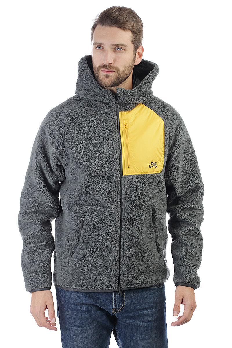 Купить толстовку классическая Nike SB Everett Grey (862745-060) в ... 86b37066f1e