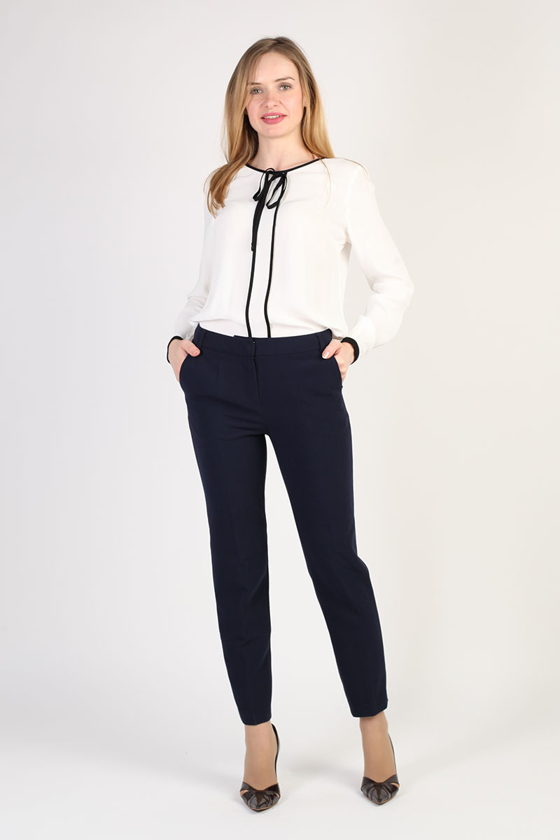 9ef2fe3cdd25 Купить брюки женские прямые классические (LA-719038) в интернет-магазине  Steinberg.ru