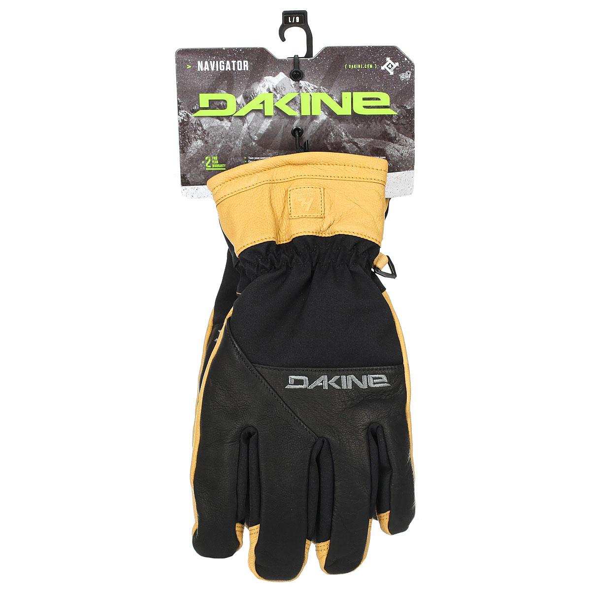 Перчатки сноубордические Dakine Navigator Glove Black/Tan
