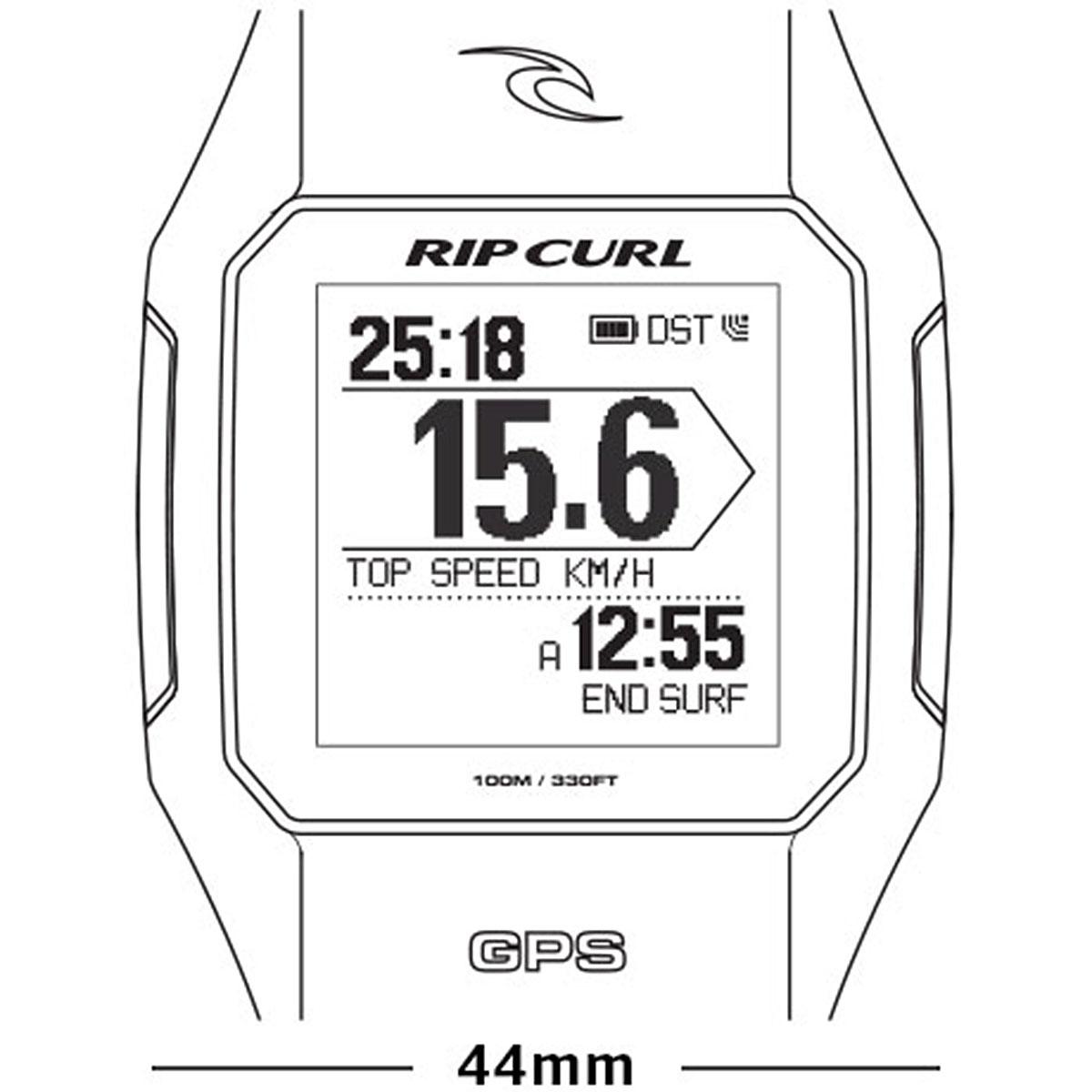 Электронные часы Rip Curl Search GPS 84 Charcoal