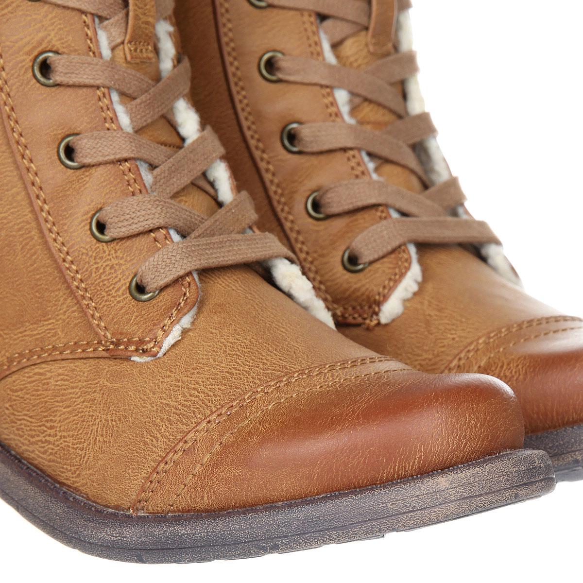 56da273007a6 Купить ботинки зимние женские Roxy Dominguez Boot Tan (ARJB700543 ...