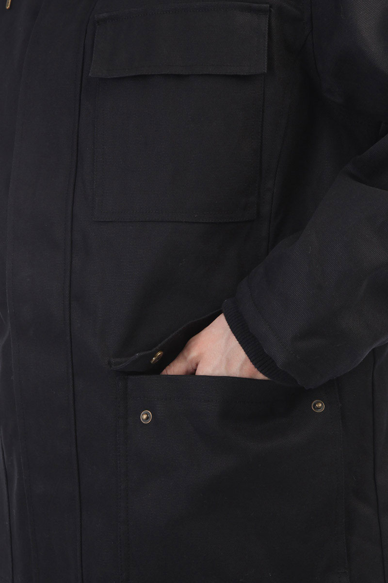 b254e32b Купить куртку парка Dickies Elmwood Black в интернет-магазине ...
