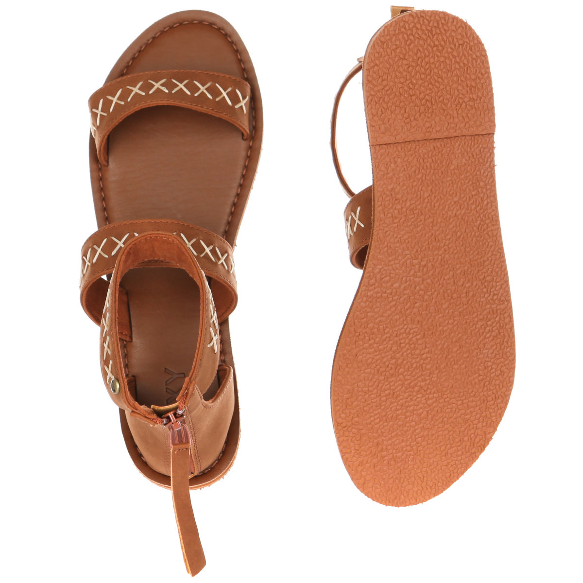 4769e8393ca0 Купить сандалии женские Roxy Natalie Brown (ARJL200621-BRN) в ...