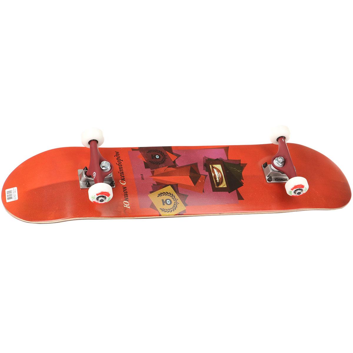 6f3ea2c1133ece Купить скейтборд в сборе юнион Face Red 31.875 x 7.875 (17.8 см) в ...