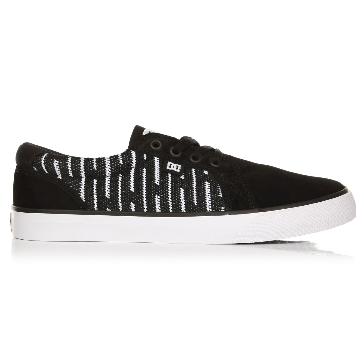 Кеды низкие DC Council Se Black/White/Black