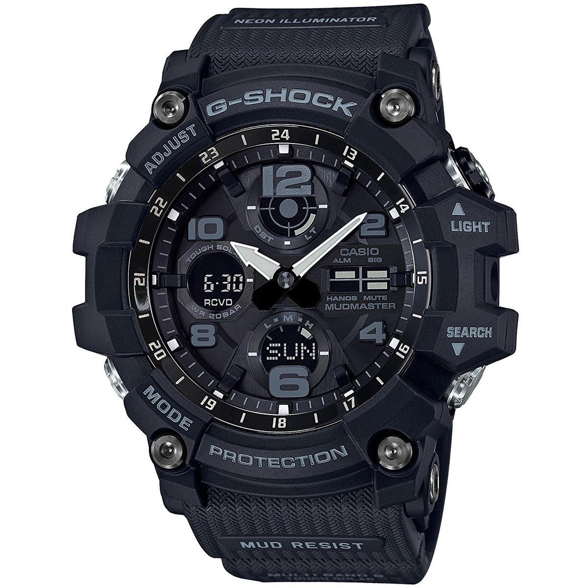 282cb90a6648 Купить кварцевые часы Casio G-Shock Premium gwg-100-1a Black в ...
